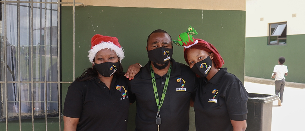 Christmas Day at Macebo Primary School in KwaCele